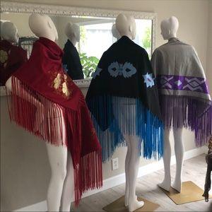 Native Americans ceremonial shawls
